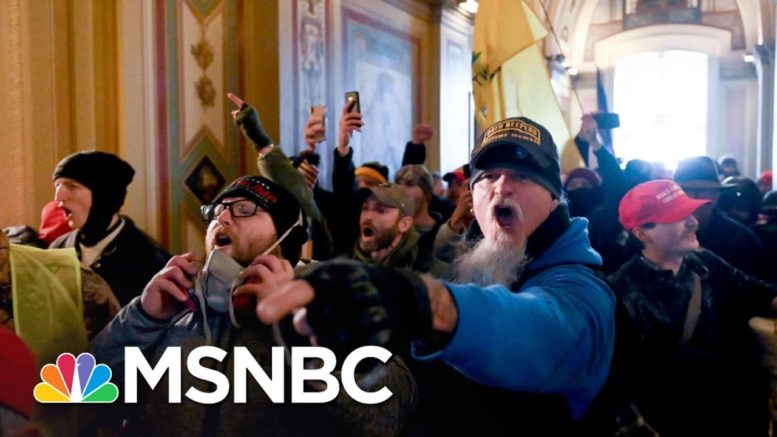 Beschloss: This Was A Terrorist Attack Initiated By Trump | The 11th Hour | MSNBC 1