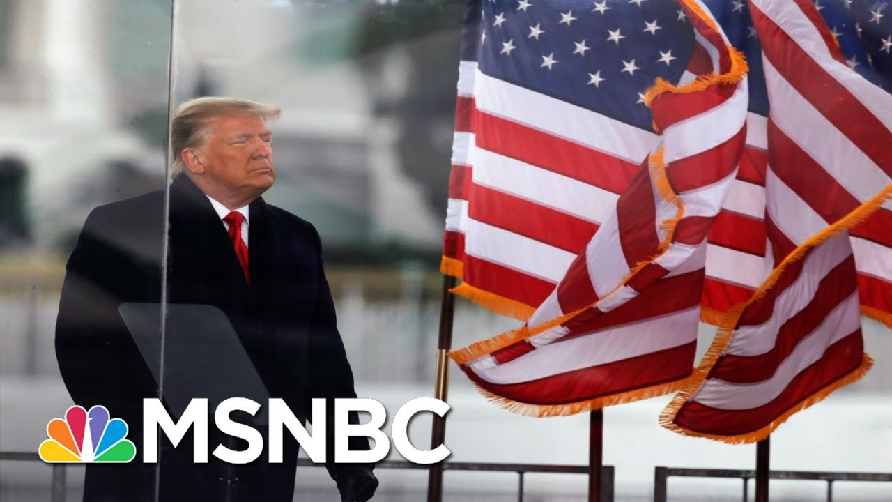 Trump Issues Statement Saying There Will Be 'Orderly' Transition Of Power On January 20'   MSNBC 1