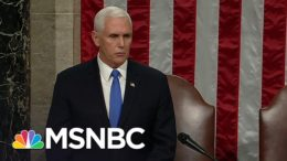 Congress Affirms Biden As President After Completing Electoral Vote Count   MSNBC 1