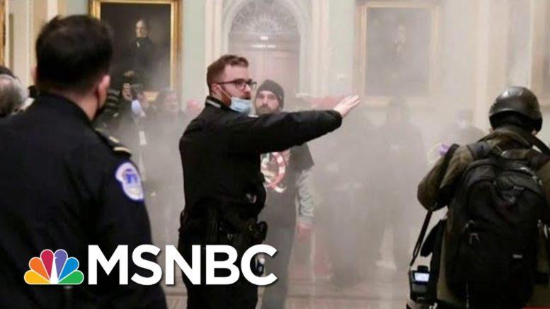 U.S. Capitol Ransacked After Massive Security Failure   Morning Joe   MSNBC 1