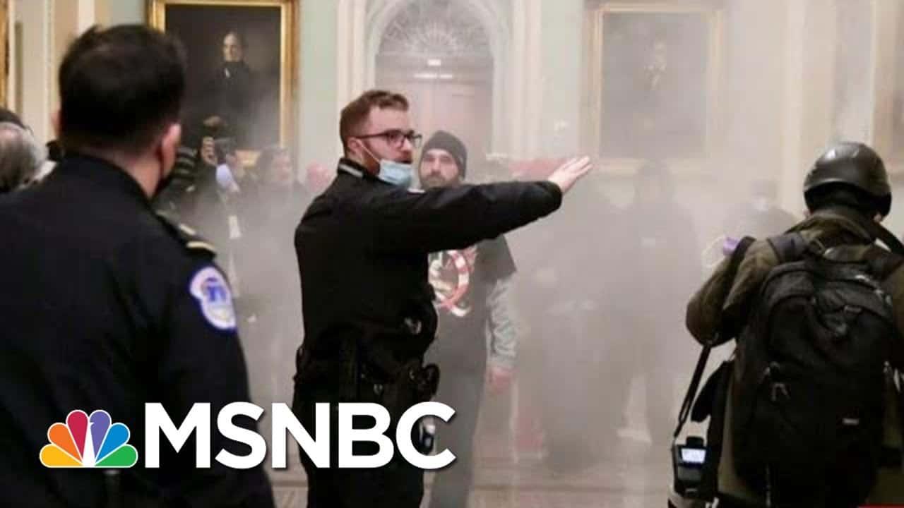 U.S. Capitol Ransacked After Massive Security Failure | Morning Joe | MSNBC 4