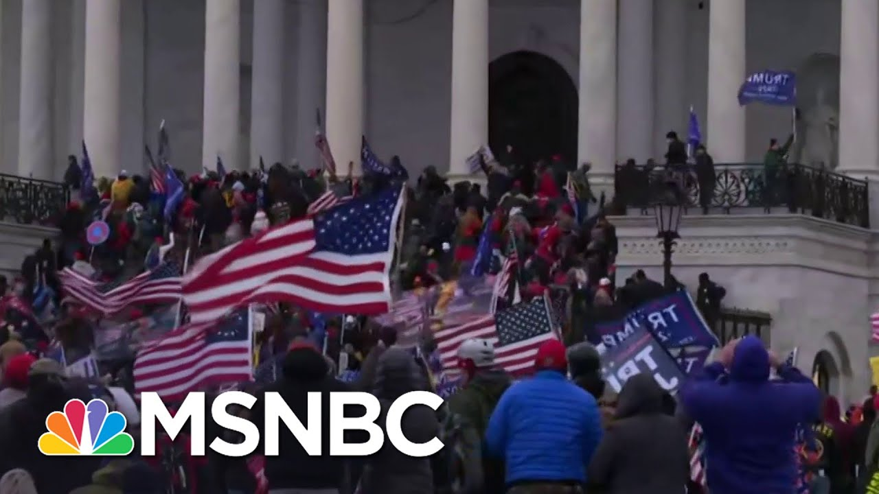 Discussing The Role Online Misinformation Played In Pro-Trump Riots At The Capitol | Stephanie Ruhle 1