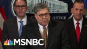 Barr Condemns Trump's Conduct As A 'Betrayal Of His Office And Supporters' | Hallie Jackson | MSNBC 3