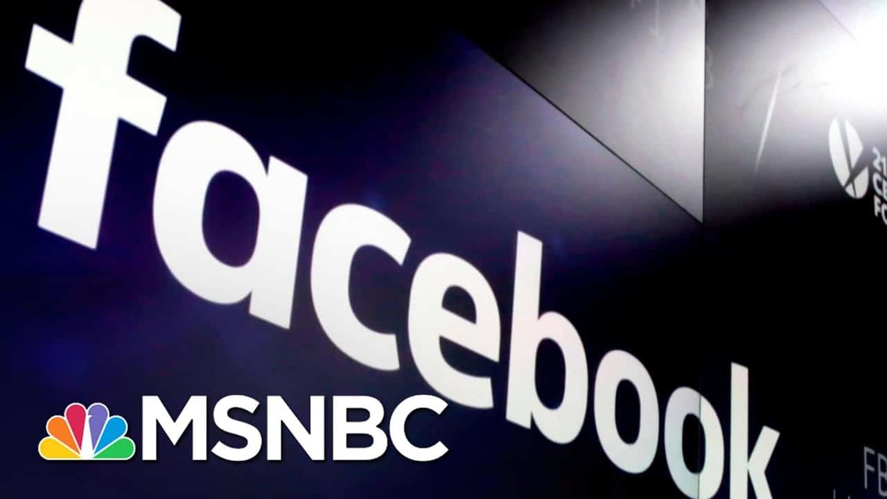 Facebook, Instagram Block Trump's Accounts From Posting Until 'Peaceful Transition Of Power'   MSNBC 4