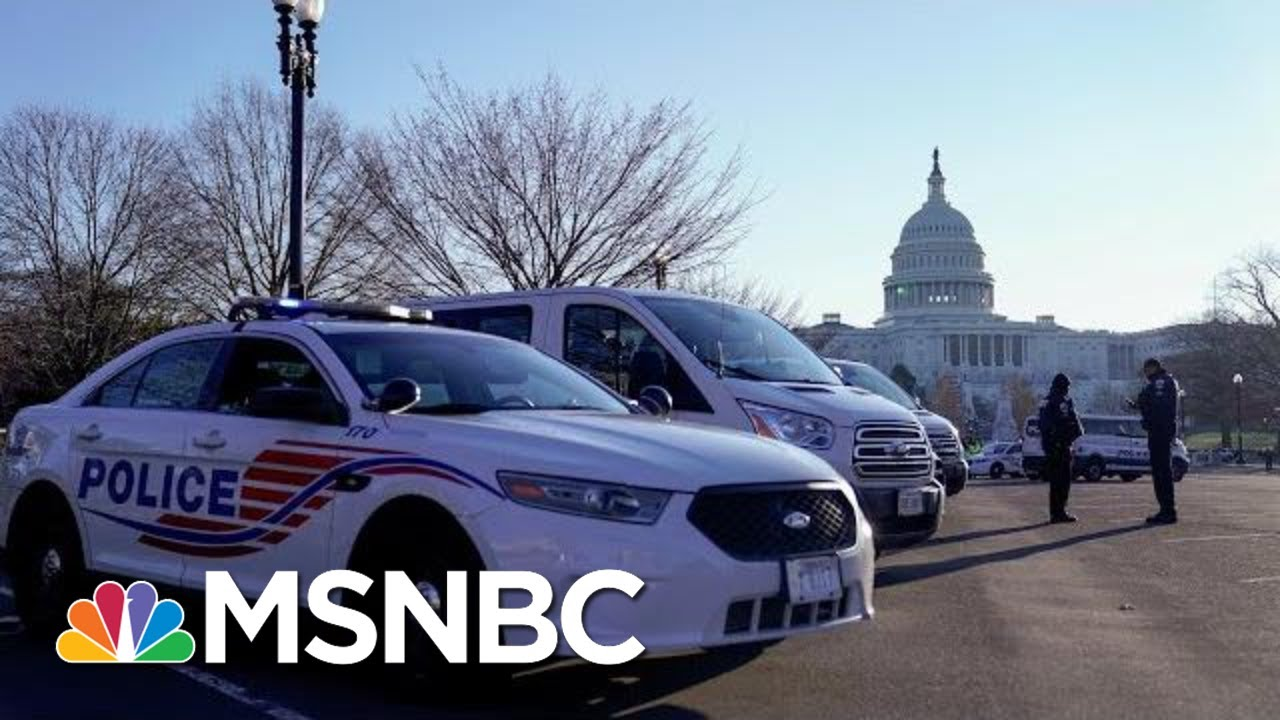 Capitol Police Issue First Statement On Riots: We Are Conducting A Thorough Review' | MSNBC 1