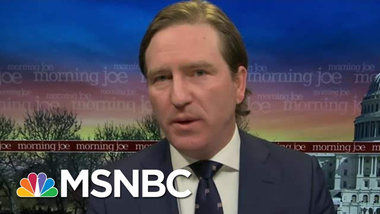 'It's Appalling': Former CISA Director On Riots In U.S. Capitol | Morning Joe | MSNBC 6