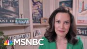 Gov. Whitmer On Warning Against Potential Violence: 'Nobody Did A Darn Thing' | MTP Daily | MSNBC 4