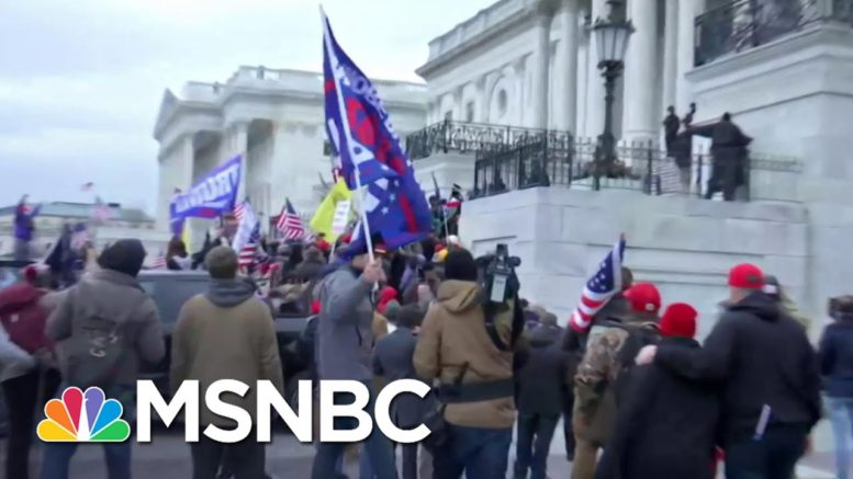T. Jones: If That Was A Black Org., They Would Have Never Gotten To The Steps | The ReidOut | MSNBC 1
