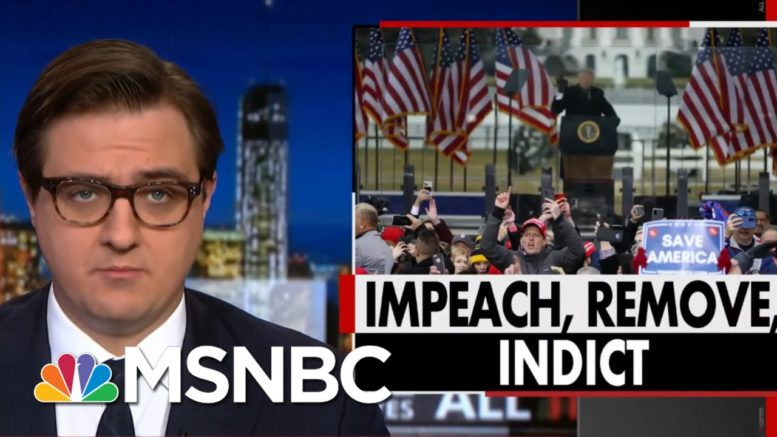 Chris Hayes: Trump Must Be Removed From Office And Tried For Sedition | All In | MSNBC 1