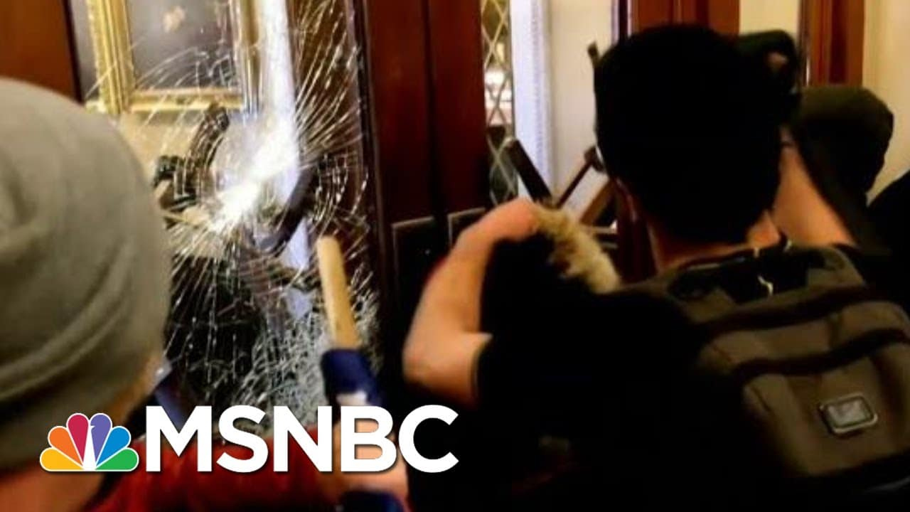 Exposed: Police Double Standards From Trump Riot To BLM Protests   The Beat With Ari Melber   MSNBC 1