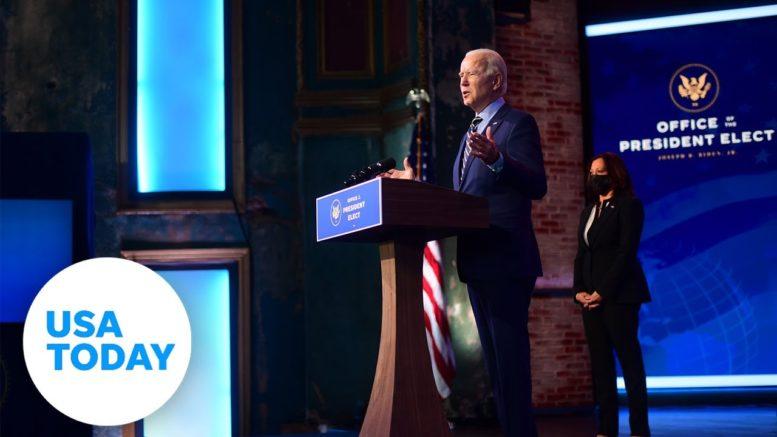President-elect Joe Biden and Vice President-elect Kamala Harris hold press conference | USA TODAY 1
