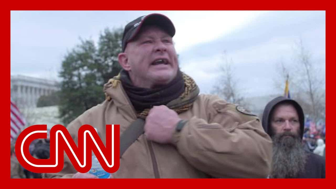 'What are we supposed to do?': Rioter speaks to CNN's Elle Reeve 1