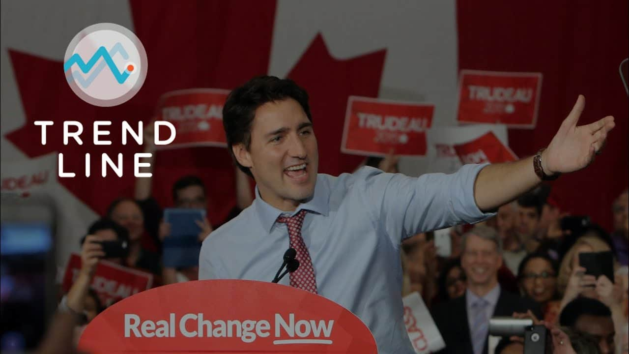 Nanos thinks Trudeau wants an election in 2021, but will the opposition agree?   TREND LINE 1