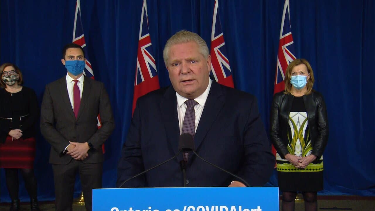 'We're in a desperate situation': Ontario Premier Doug Ford on COVID-19 cases 1