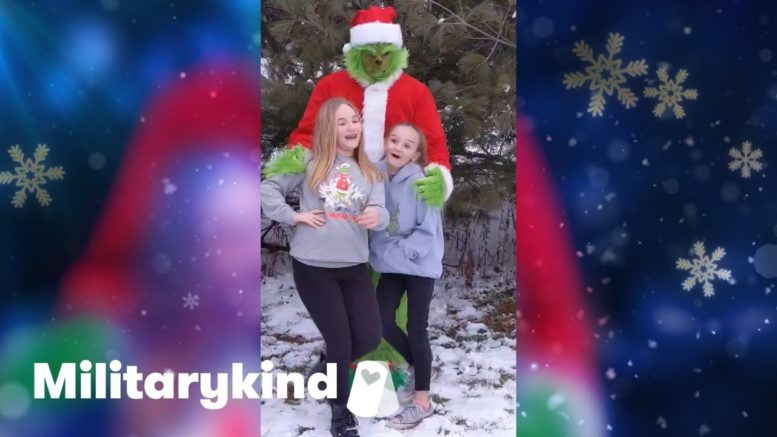 Grinch saves Christmas with Army dad surprise | Militarykind 1