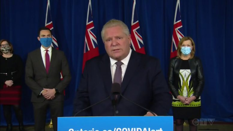 'Serious situation' in Ontario: Premier Ford on COVID-19 1
