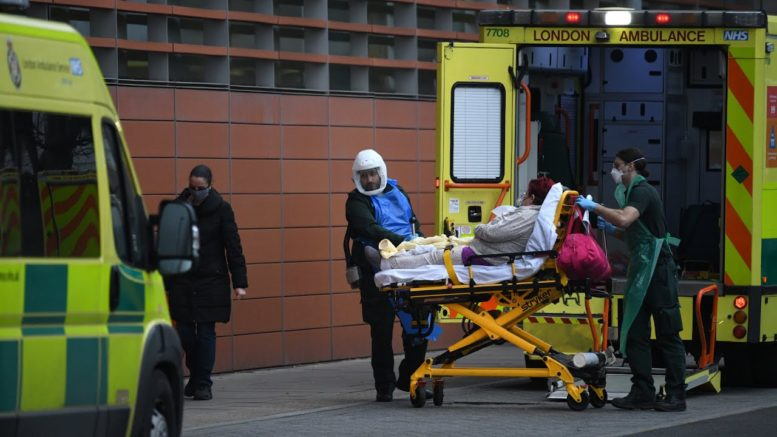 Some U.K. hospitals 'on the brink' amid COVID-19 surge 1