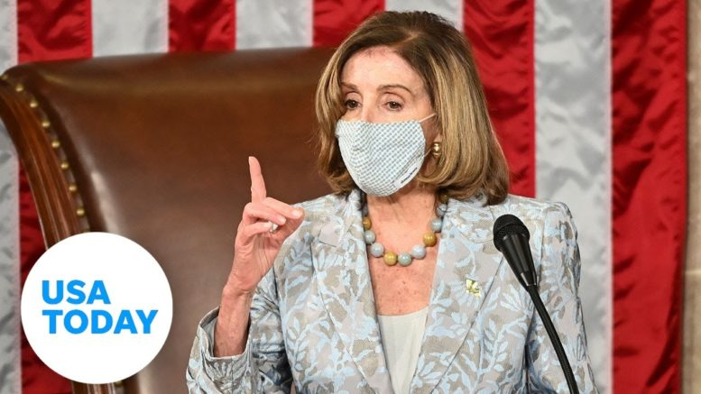 Nancy Pelosi voted House Speaker by the 117th Congress | USA TODAY 1