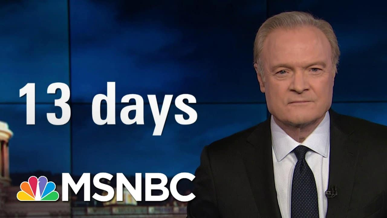 Donald Trump Said 'We Love You' To The Invaders | The Last Word | MSNBC 1