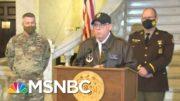 National Guard Held In Limbo As Trump Mob Ransacked U.S. Capitol | Rachel Maddow | MSNBC 2