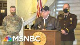 National Guard Held In Limbo As Trump Mob Ransacked U.S. Capitol | Rachel Maddow | MSNBC 9