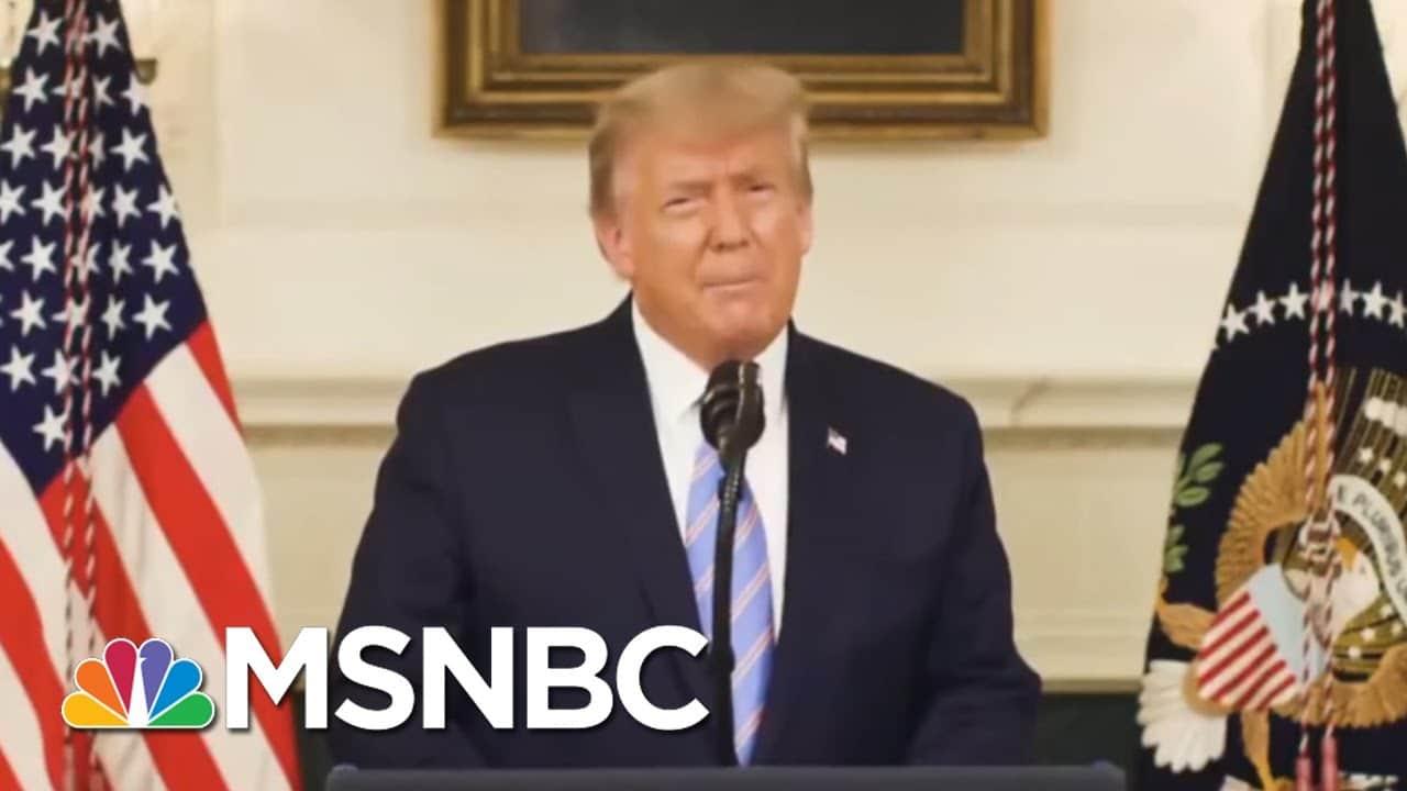 Biden Blasts 'Domestic Terrorists' As Trump Faces Riot Fallout | The 11th Hour | MSNBC 1