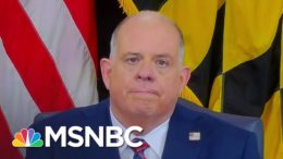 Gov. Hogan: Congress Leaders Were 'Pleading For Help' From National Guard | Andrea Mitchell | MSNBC 9
