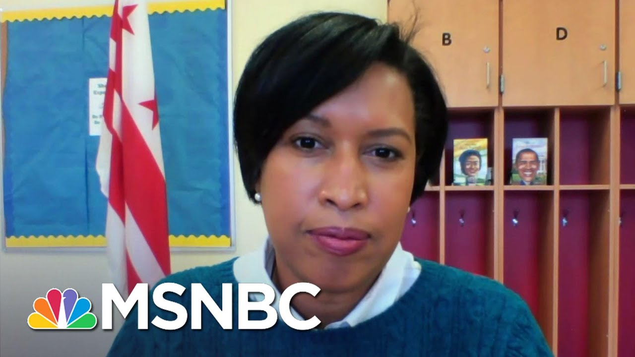 DC Mayor Bowser Calling For A Congressional Inquiry Into Security Failures | Andrea Mitchell | MSNBC 1
