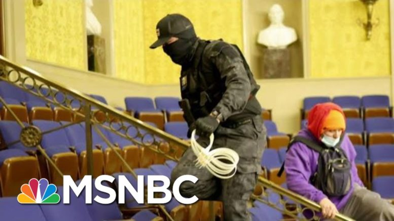 House May Impeach Trump For Inciting Mob Attack | The Beat With Ari Melber | MSNBC 1