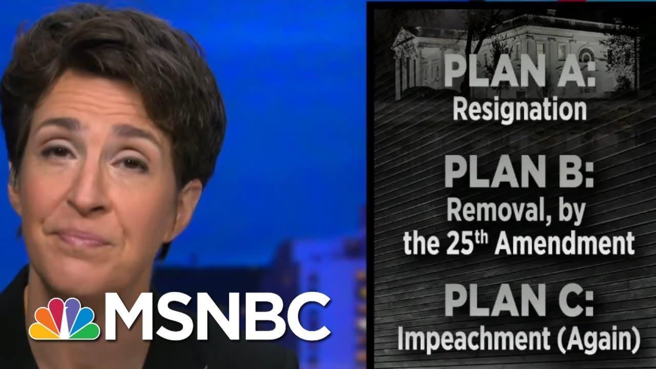 Trump Fear Of Prison Could Push Him Toward Resignation And A Pence Pardon | Rachel Maddow | MSNBC 1