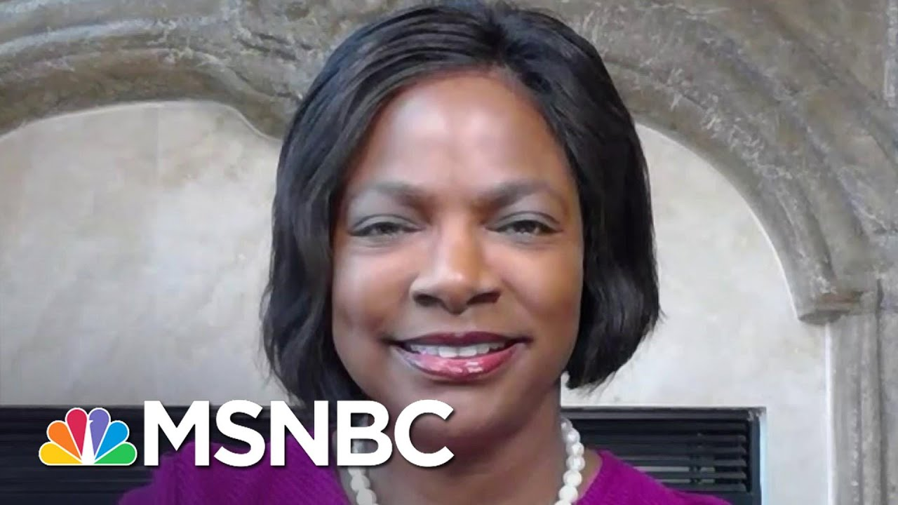 Rep. Demings, Former Police Chief, On Law Enforcement Response To Wednesday's Insurrection   MSNBC 1