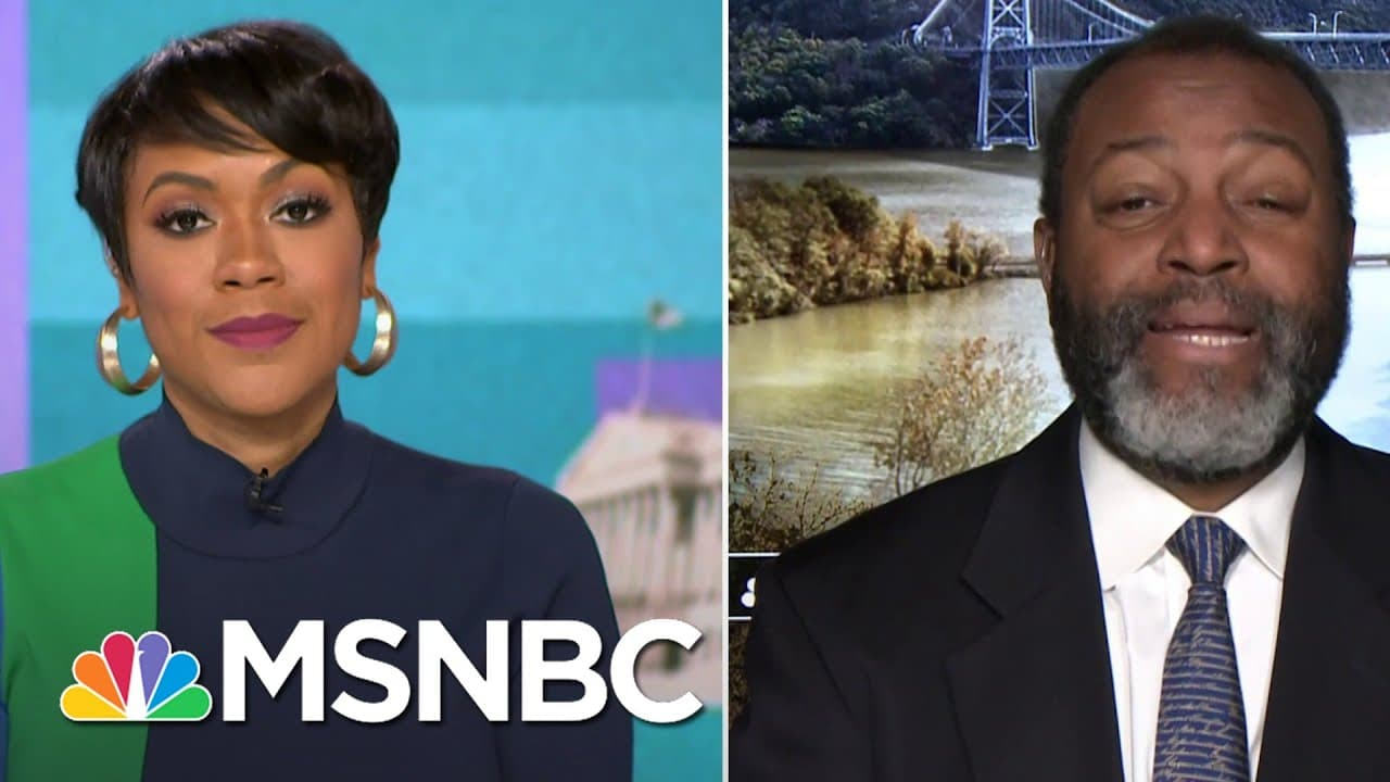 Terrorism Expert Fears Extremist Threat To Government Officials Could Remain   MSNBC 1