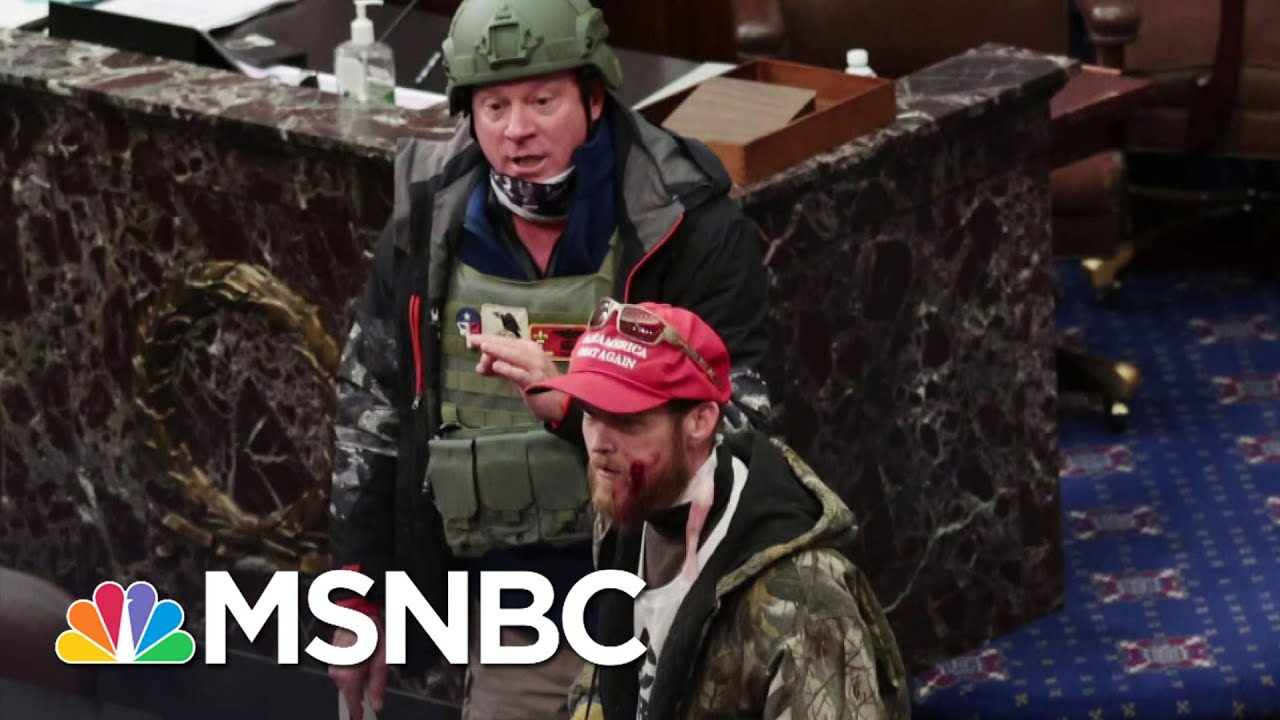 Congress To Investigate Law Enforcement Handling Of Deadly Capitol Breach   MSNBC 1