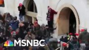 New Video Shows Rioters Attacking Capitol Police | MSNBC 5