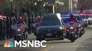 Officers Pay Somber Tribute To Fallen Capitol Police Officer Brian Sicknick | MSNBC 3