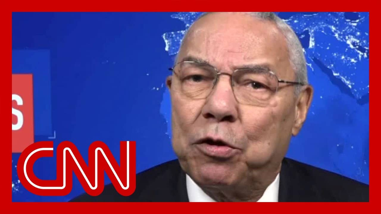 Why Colin Powell says he no longer considers himself a Republican 7