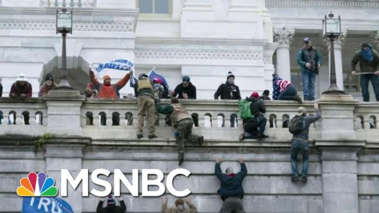 Disturbing New Video And Details Emerge From Capitol Riot   Morning Joe   MSNBC 1