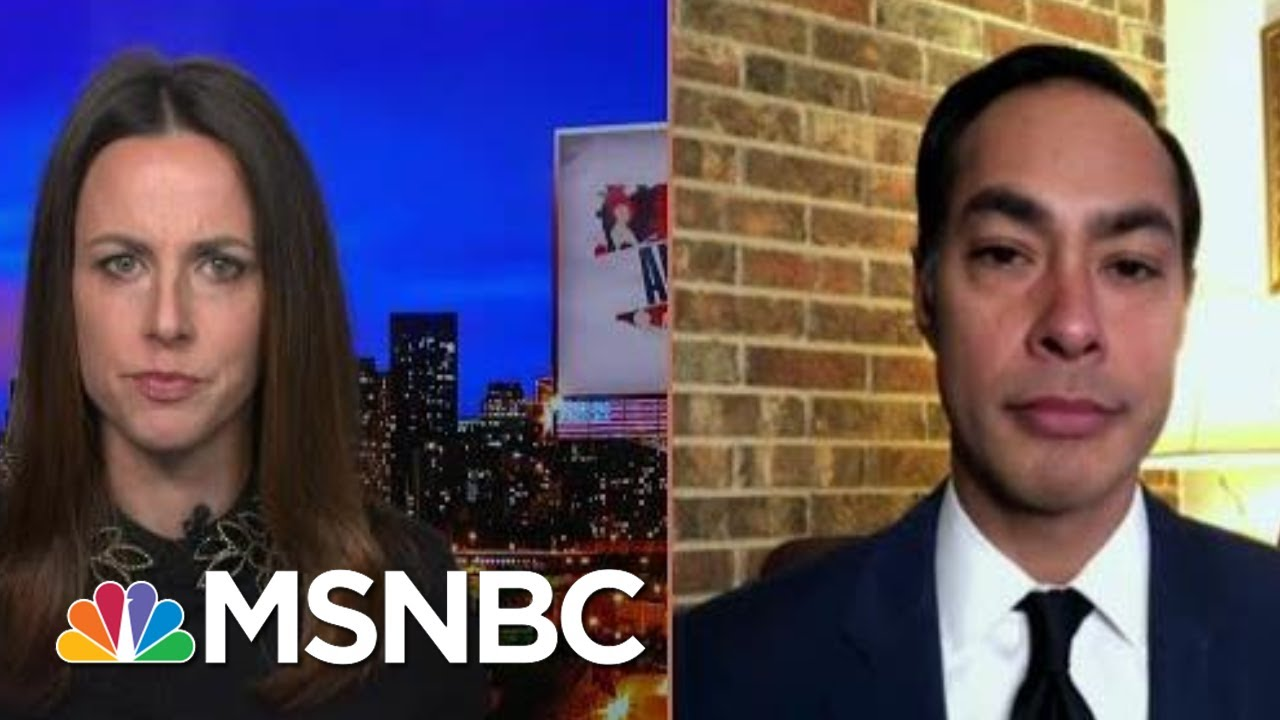 Julian Castro: 'There Needs To Be Accountability For Him Inciting Insurrection'   MSNBC 1