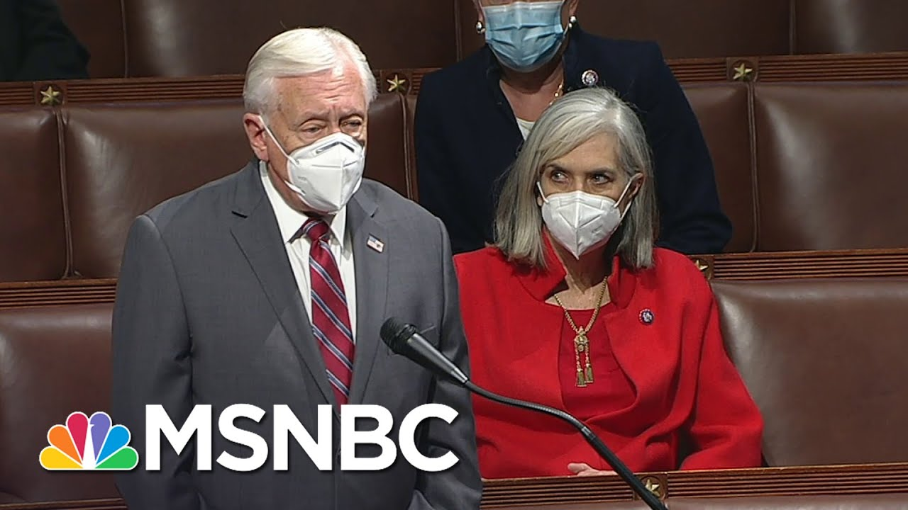 Democrats Introduce Resolution Calling On Pence To Invoke 25th Amendment, Republicans Object | MSNBC 7