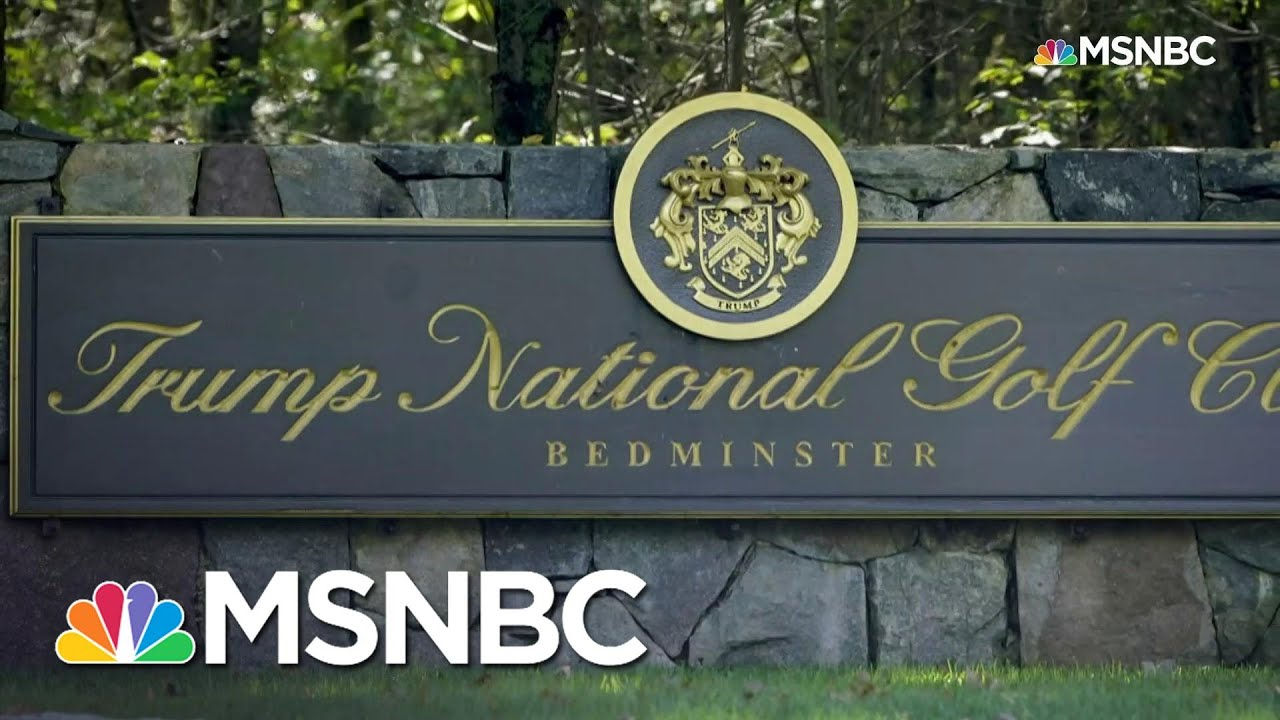 PGA Pulls 2022 Tournament From Trump's Bedminster After Capitol Riot   Ayman Mohyeldin   MSNBC 2