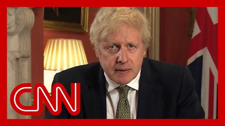 Boris Johnson announces strict new UK lockdown 1