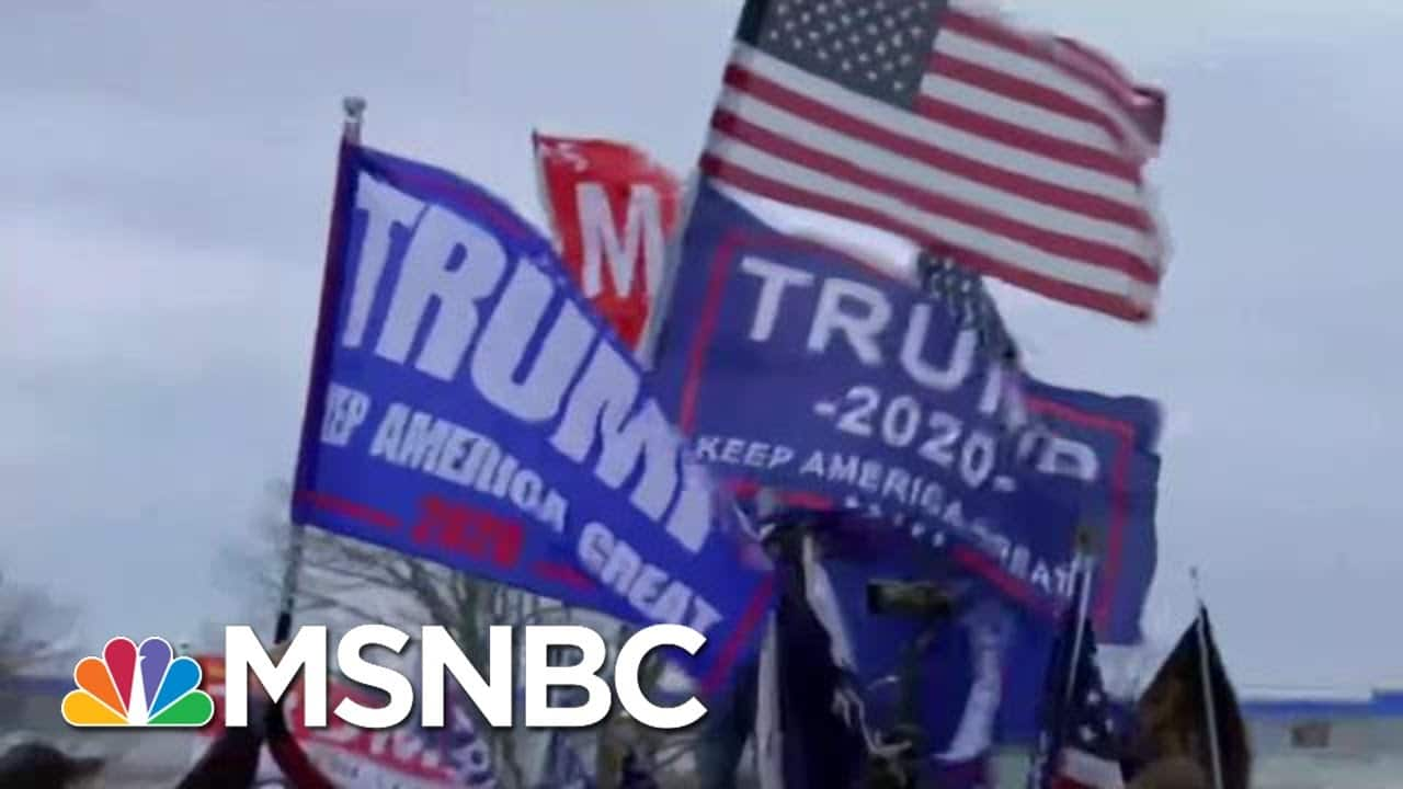 Trump And His Supporters' Insurrection Is A Crime, Not A Political Debate   The Beat With Ari Melber 1