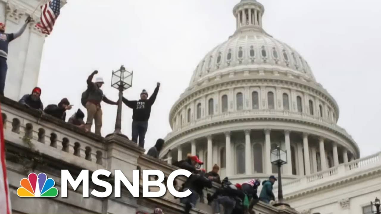 Giuliani Left Voicemail For Senator After Riot Asking For Help To Overturn Election | All In | MSNBC 1