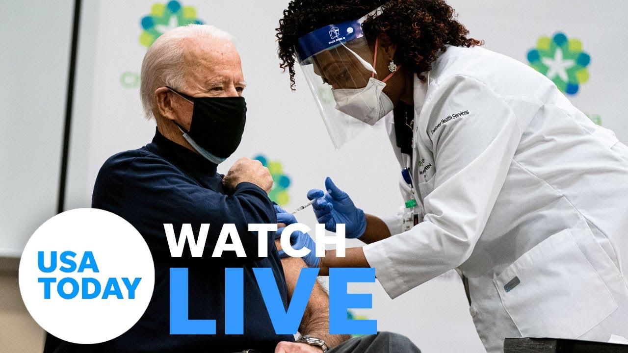 President-elect Joe Biden receives second dose of COVID-19 vaccine (LIVE) | USA TODAY 6