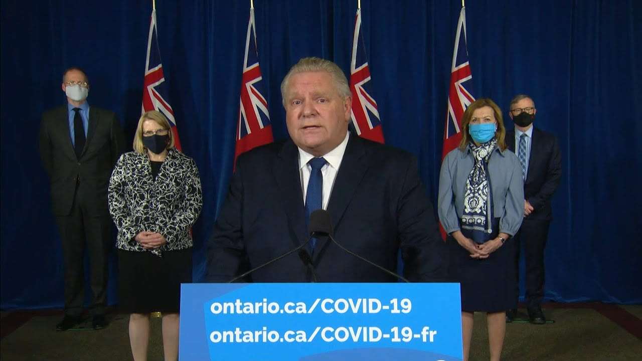 Doug Ford declares state of emergency in Ontario 5