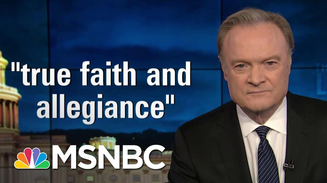 Lawrence: 147 Republicans Lied When They Took An Oath To Defend The Constitution | The Last Word 1