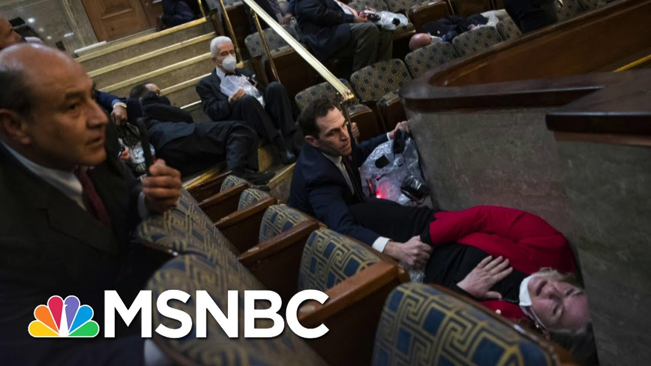 How Military Service Prepared Rep. Crow For Capitol Invasion | The Last Word | MSNBC 1