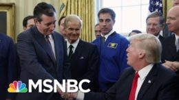 Sen. Ted Cruz Stands By His Man, Donald Trump | The Last Word | MSNBC 5