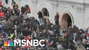 Video Shows Trump Mob Brutalizing Police; Investigators Make Progress On Arrests   Rachel Maddow 6