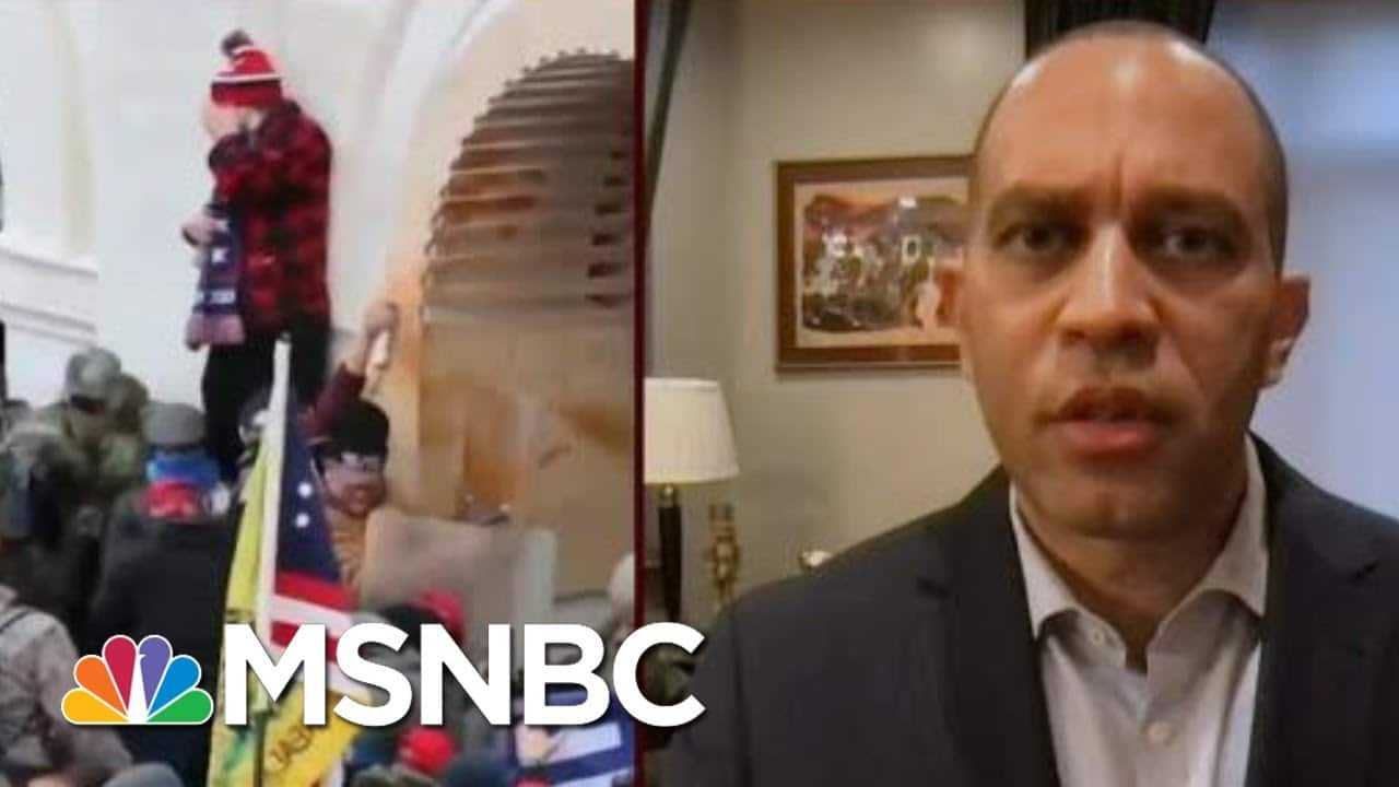 Rep. Jeffries: Capitol Police Force Was Under-Resourced, Under-Prepared   Morning Joe   MSNBC 1